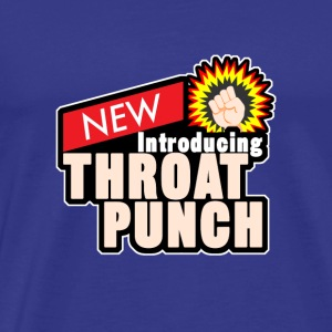 throat punch - Männer Premium T-Shirt