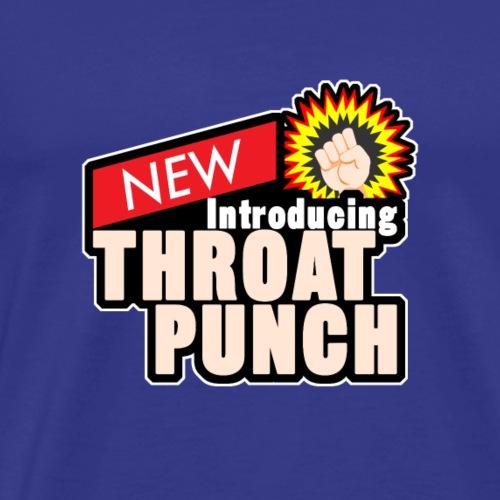 throat punch - Männer Premium T-Shirt