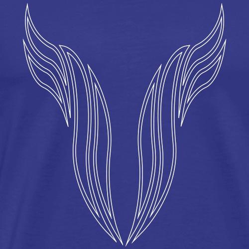 BR_engel_flügel - Männer Premium T-Shirt