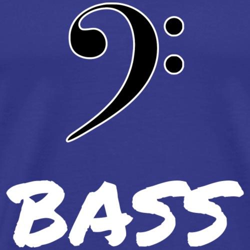 MUSIK: BASS - Männer Premium T-Shirt