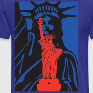 Statue of Liberty-statue of liberty-USA - Men's Premium T-Shirt
