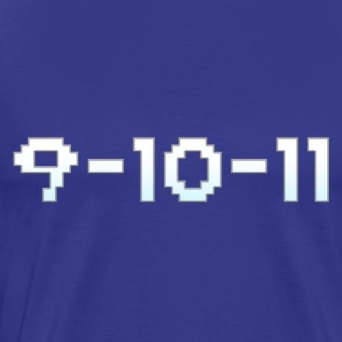 9-10-11 - Premium T-skjorte for menn