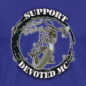 T-Shirt DEVOTEDMC SUPPORTSHOP10007 - Premium T-skjorte for menn