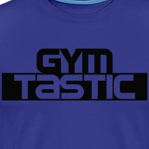 Gymtastic - Brust - Schwarz - Sportbekleidung - Männer Premium T-Shirt