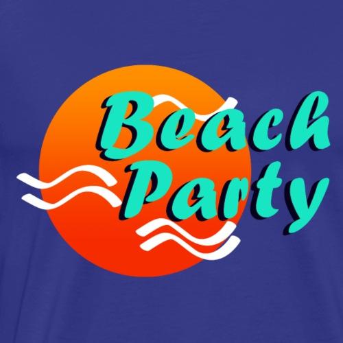 Beach Party - Männer Premium T-Shirt