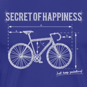 Secret of Happiness - Herre premium T-shirt