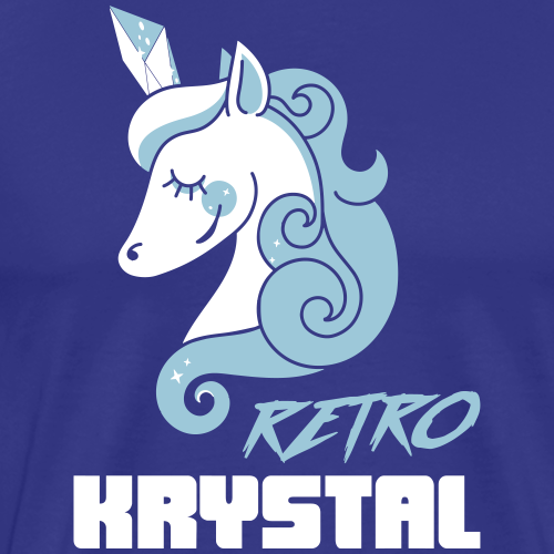 RetroKrystal - Men's Premium T-Shirt