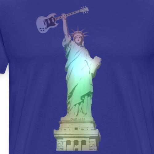 Liberty Rocks (Rainbow) - Men's Premium T-Shirt