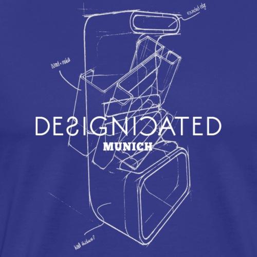 Designicated Munich weiß - Männer Premium T-Shirt