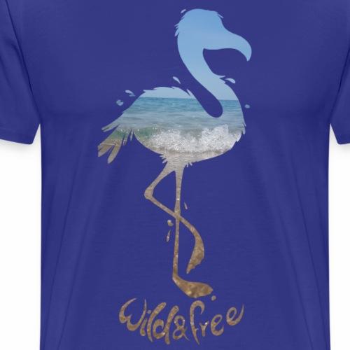 flamingo - Männer Premium T-Shirt