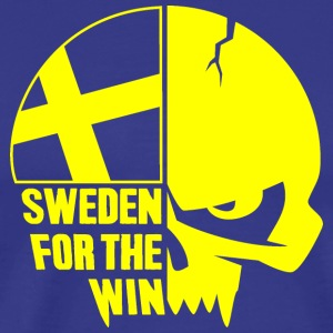 Sweden for the win - Herr - Premium-T-shirt herr