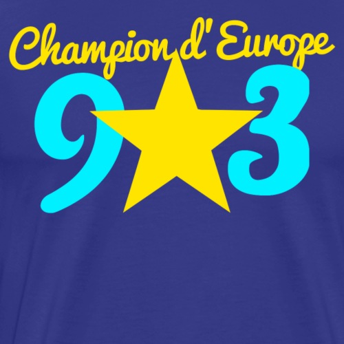 Collection CHAMPION D'EUROPE 93 - T-shirt Premium Homme