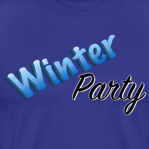 Winter Party - Premium-T-shirt herr
