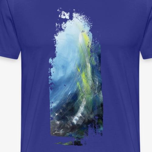 Kunst Tiefe des Ozeans - Männer Premium T-Shirt