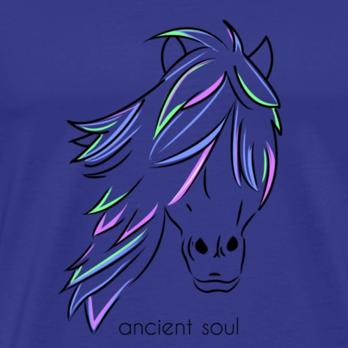 ancient soul (teens) - Men's Premium T-Shirt