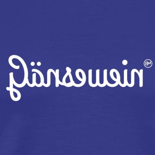 Gänsewein - Männer Premium T-Shirt