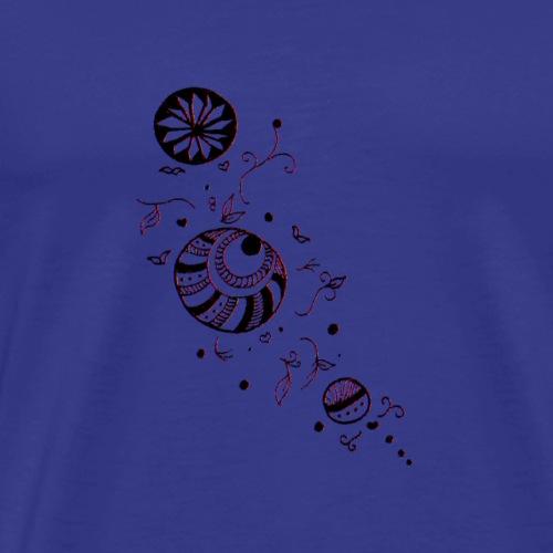 Bulles romantiques - T-shirt Premium Homme