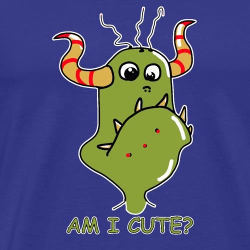 Cute Monster - Männer Premium T-Shirt