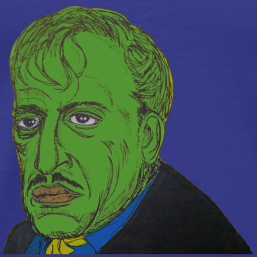 Farbror grön - Premium-T-shirt herr
