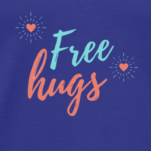 national hugging day - Maglietta Premium da uomo