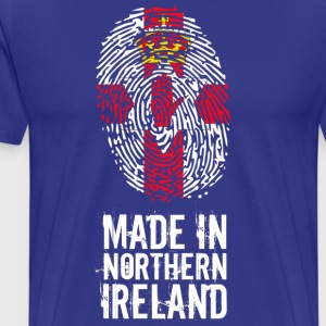 Made In Nord-Irland / Nord-Irland - Premium T-skjorte for menn