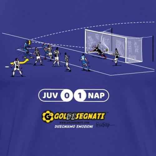 JUV-NAP 0-1 Il Gol Storico allo scadere - Maglietta Premium da uomo