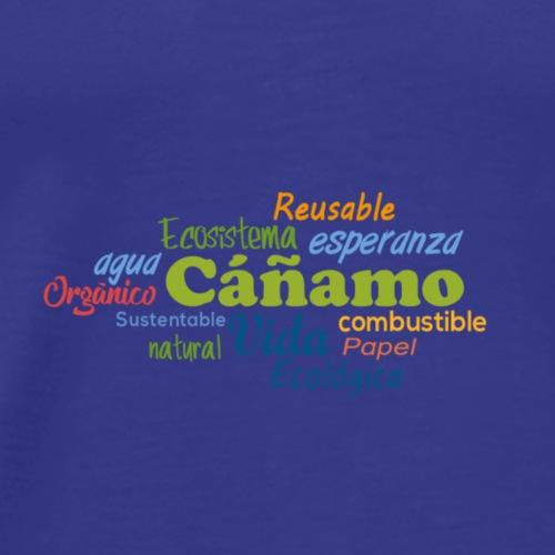 Cáñamo Sustentable - Camiseta premium hombre