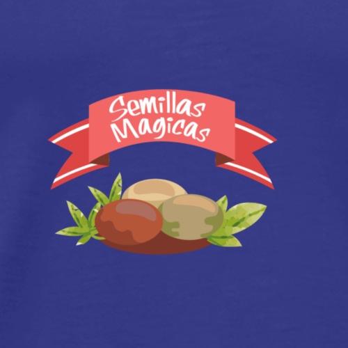 Semillas Mágicas (Cáñamo. Marijuana.) - Camiseta premium hombre