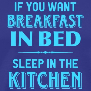 breakfast kitchen in bed breakfast in bed kitchens - Men's Premium T-Shirt