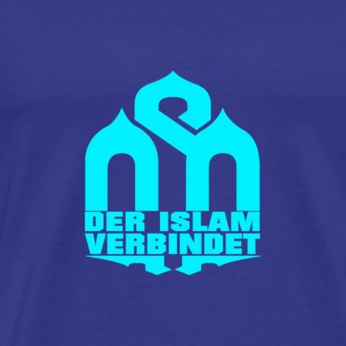 BLUE-DIV 2 - Männer Premium T-Shirt