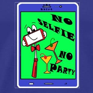 NO SELF..IE NO PARTY - uKa - Men's Premium T-Shirt