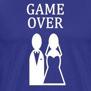 ++ ++ GAME OVER - Premium T-skjorte for menn