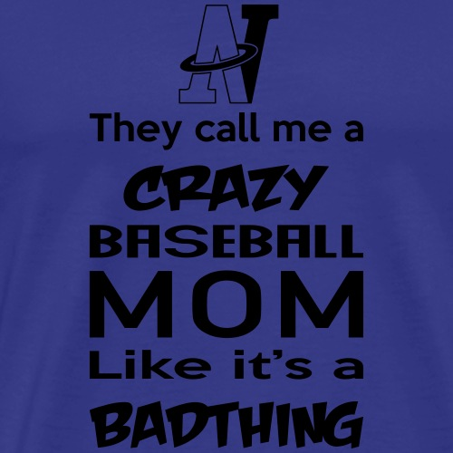 MOM_CRAZY - T-shirt Premium Homme