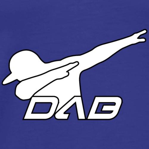 Alternate DAB white outline - Männer Premium T-Shirt