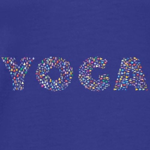 People do YOGA. - Männer Premium T-Shirt