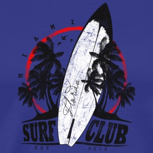 Surf Club miami - Premium-T-shirt herr