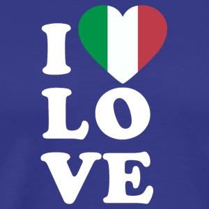 I love Italy - Men's Premium T-Shirt