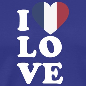 I love france - Men's Premium T-Shirt