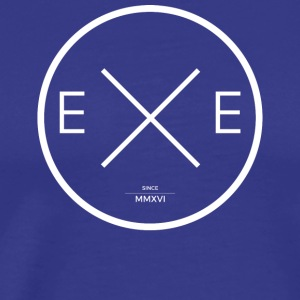 EXEMIND - Circle X - Premium T-skjorte for menn