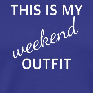 outfit weekend - Mannen Premium T-shirt