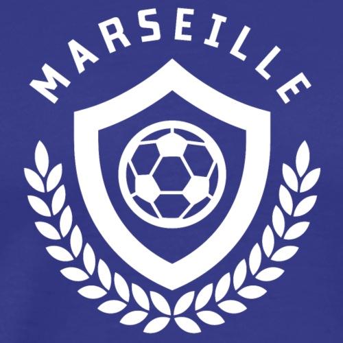 Marseille Football Emblème - T-shirt Premium Homme