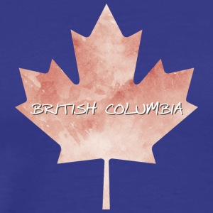 British Columbia Maple Leaf - Premium-T-shirt herr