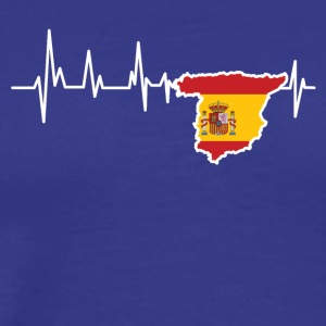 Heartbeat Spain - Men's Premium T-Shirt