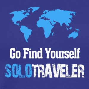 Go Find Yourself, SoloTraveler - Men's Premium T-Shirt