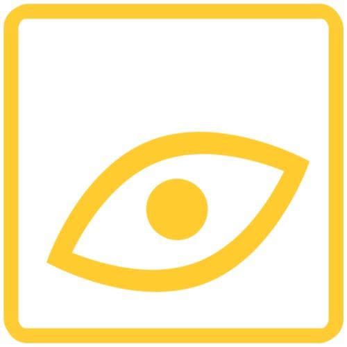 Das Auge ist ein Blickfang - Männer Premium T-Shirt