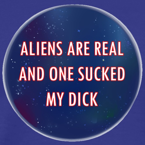 aliens are real - Premium-T-shirt herr