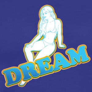 dream girl - Men's Premium T-Shirt