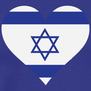 A Heart For Israel - Men's Premium T-Shirt