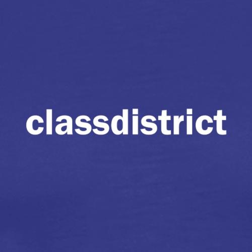 classdistrict white - Männer Premium T-Shirt