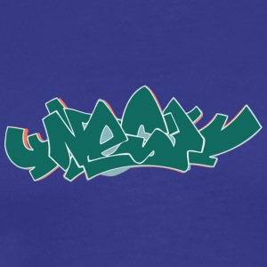 Cool street art graffiti - Premium T-skjorte for menn